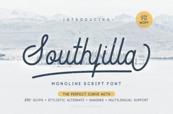 Southfilla Script Font Free