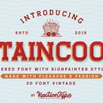 Staincool Layered Font Free