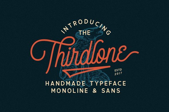 Thirdlone Font Duo Free