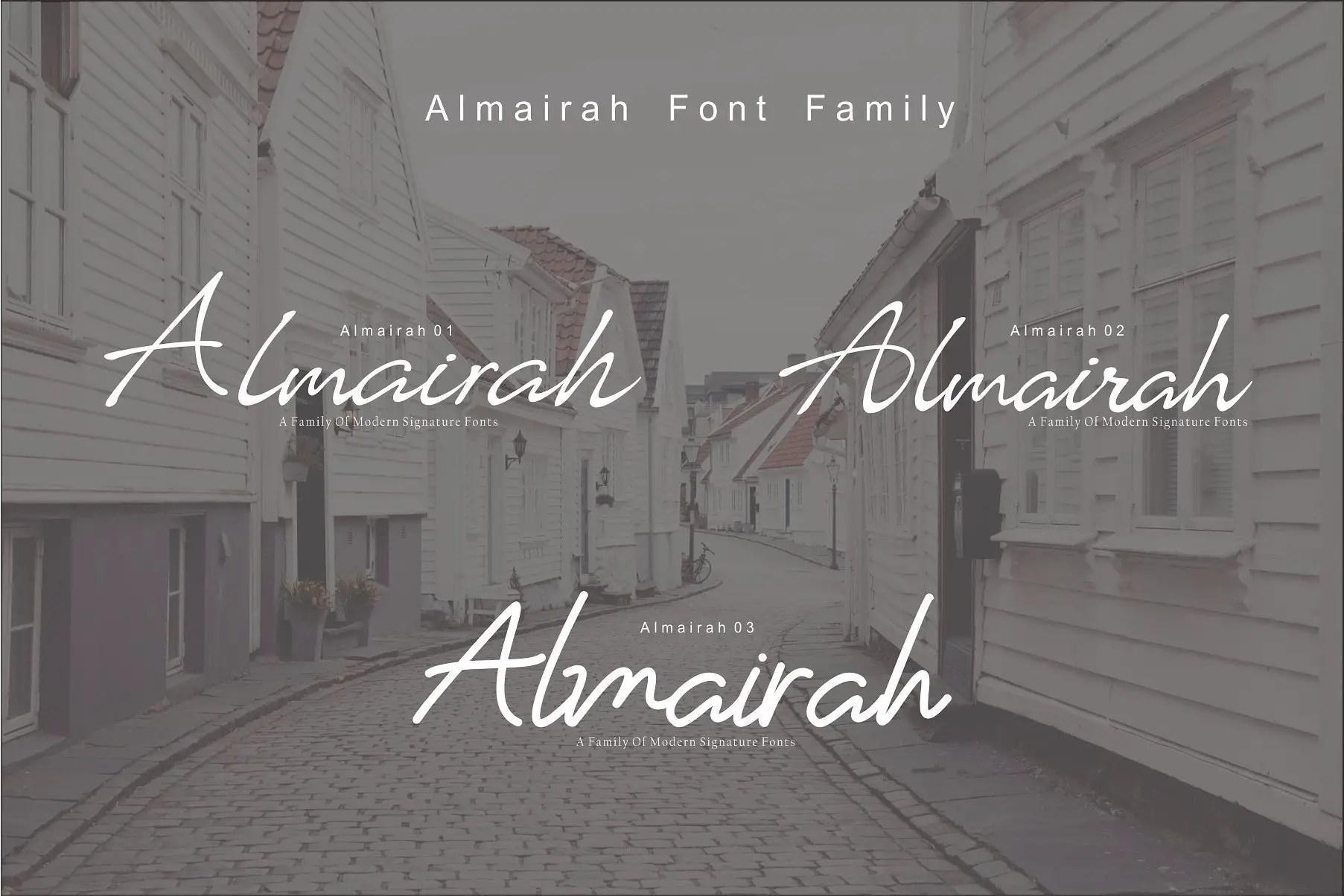 almairah-script-font-family.png