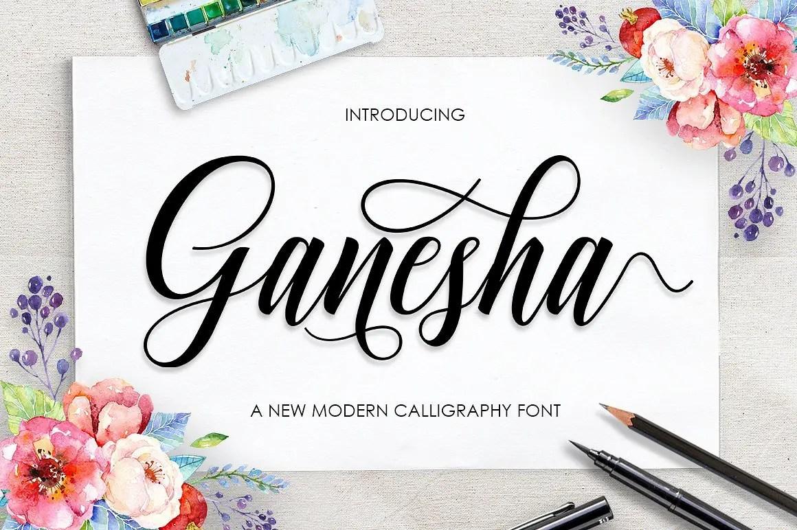 ganesha-script-font
