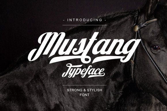 Mustang Script Font Free