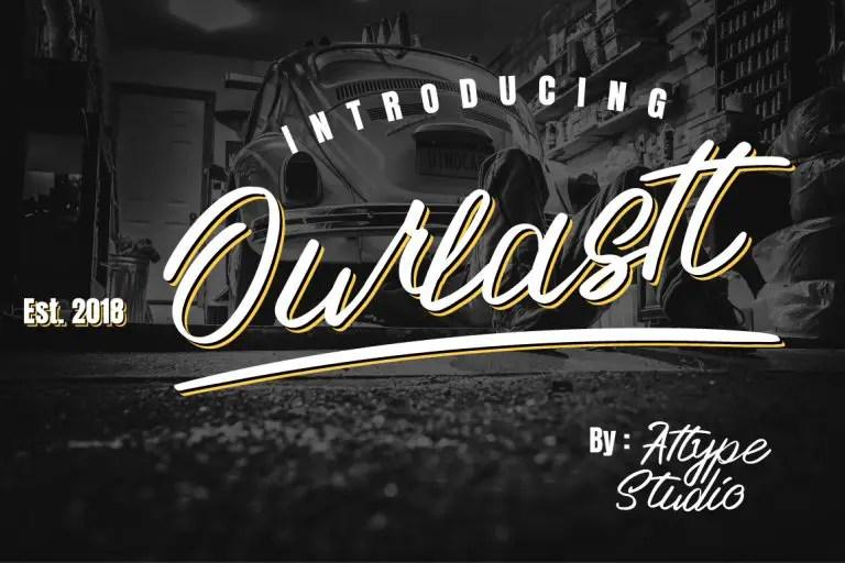 ourlastt-script-font-768x512