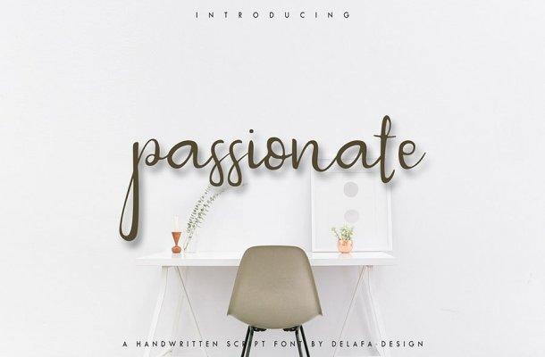 Passionate Script Font Free