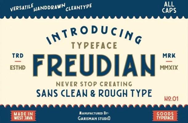 Freudian Typeface Free