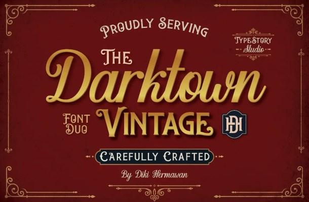 Darktown Font