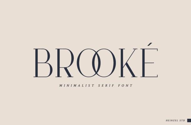 Brooke Serif Font