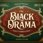 Black Drama Font