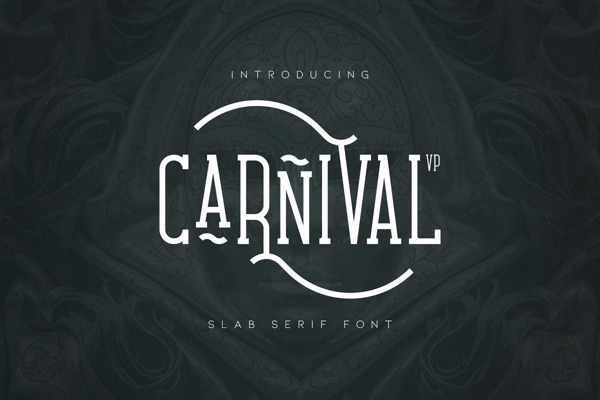 Carnival VP Slab Serif Font1-