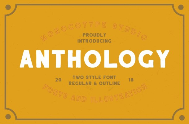 Anthology Two Style Handcrafted Font