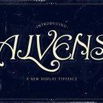 Alvens Display Font