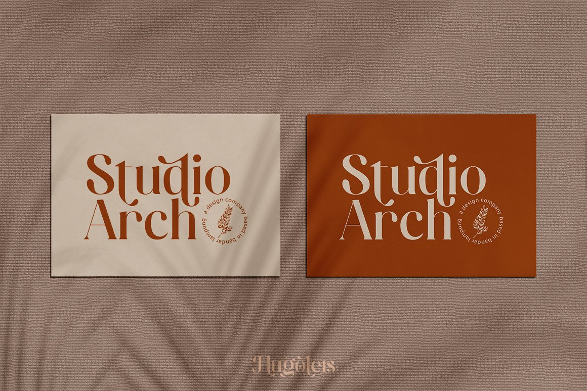 Hugolers Stylish Serif Font-2