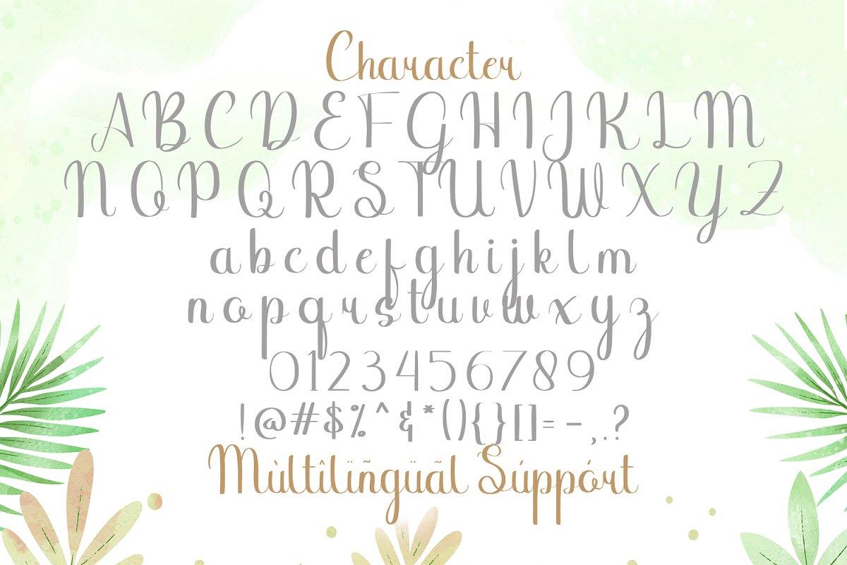 Binttang Selfianto Script Font-3