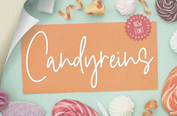 Candyreins Script Font