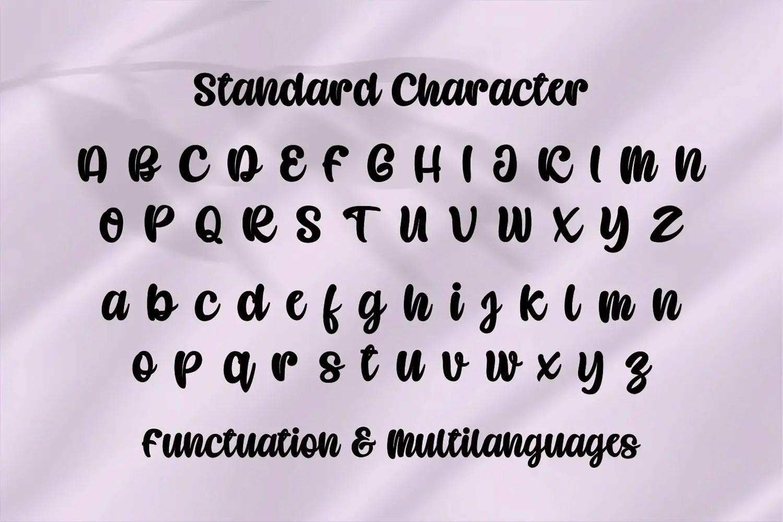 Caramel Candy Script Handwritten Font