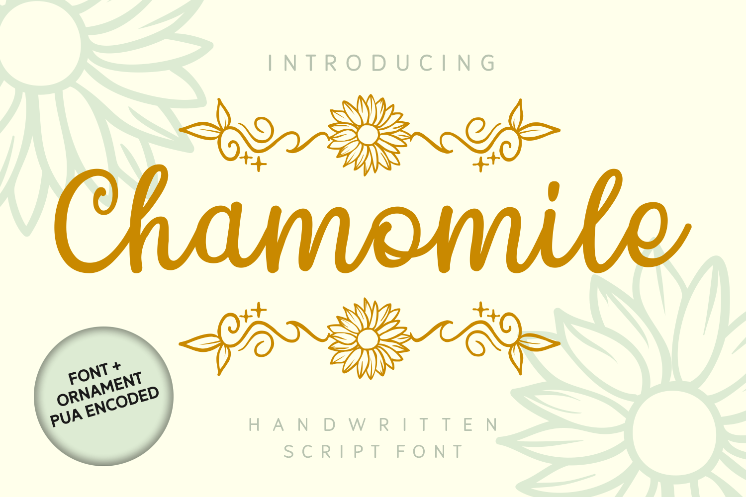 Chamomile Font by Dreamink (7NTypes)_1