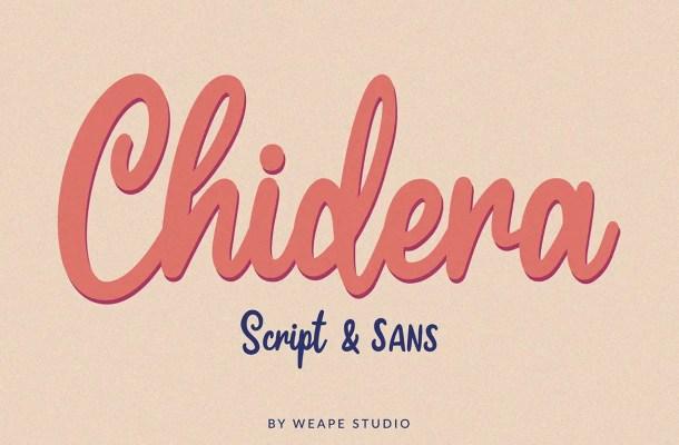 Chidera Handwritten Font