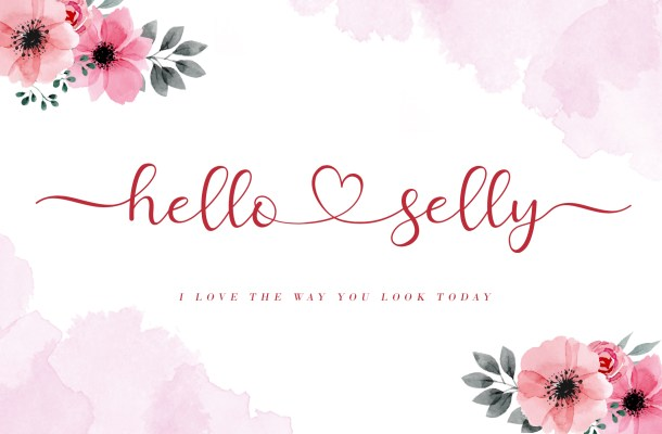 Hello Selly Script Font