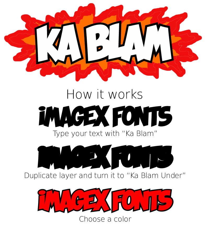 Ka Blam Fancy Font