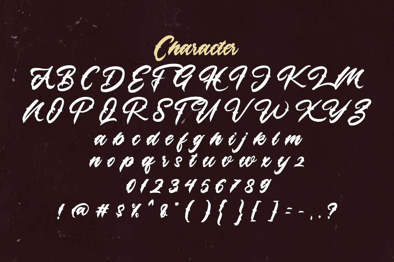 Lazyday Script Font-4