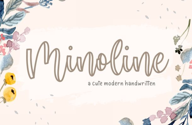 Minoline Cute Handwritten Font