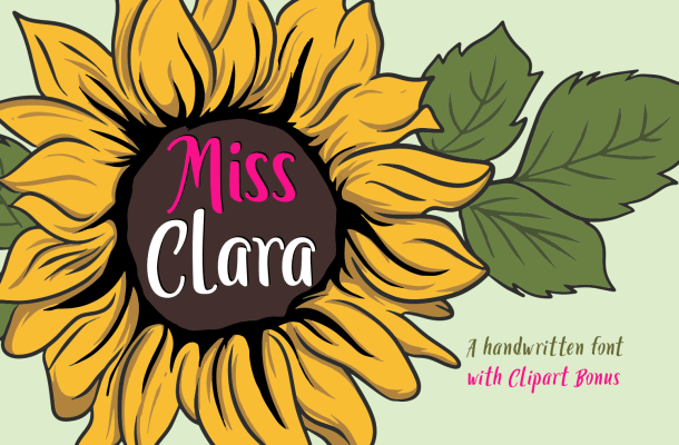 Miss Clara  Family Fonts