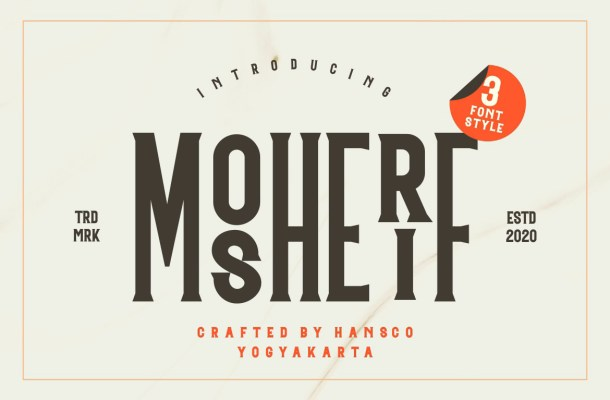 Mosherif Serif Font Family
