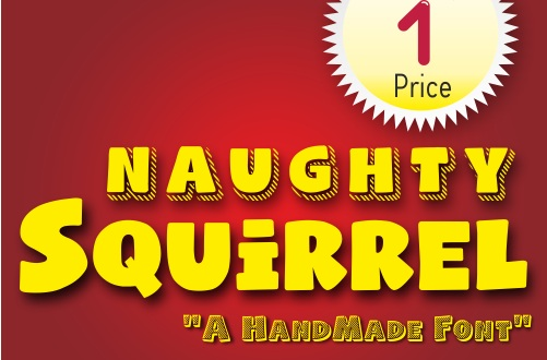 Naughty Squirrel  Font Family