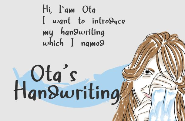 Ota's Handwriting Font
