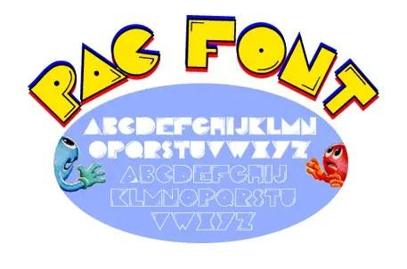 PacFont Font