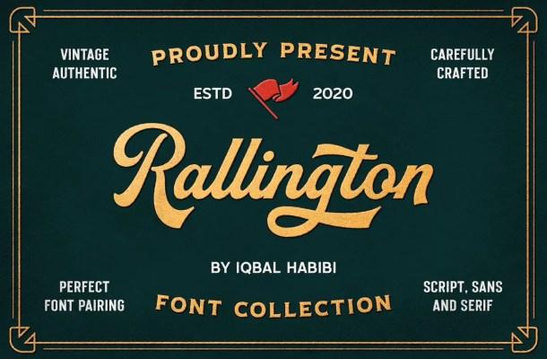Rallington Calligraphy Font