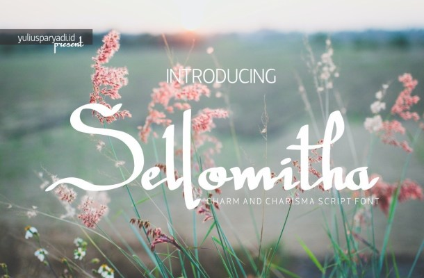 Sellomitha Handwritten Script Font