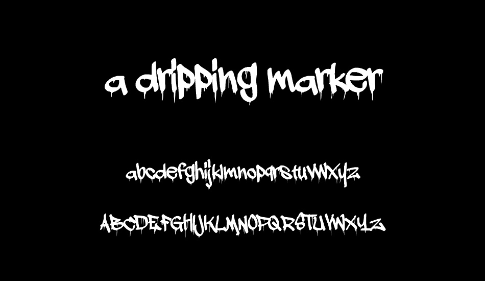 a-dripping-marker