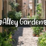 A Alley Garden Font