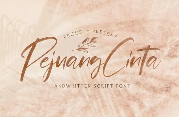 Pejuang Cinta Handwritten Script Font
