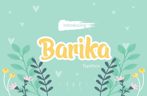 Barika Display Font