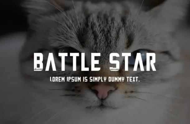 Battle Star Font Family