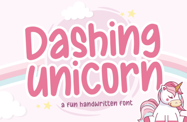 Dashing Unicorn Font