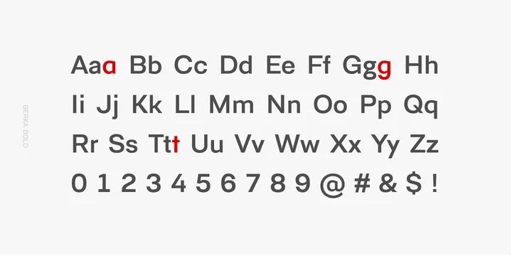 Berka Sans Serif Font03