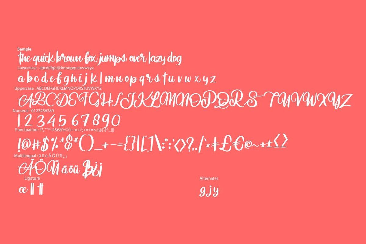 Aniabellia Beauty Script Typeface-3