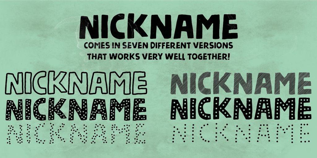 nickname-demo-font-4-big