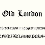 Old London Family font
