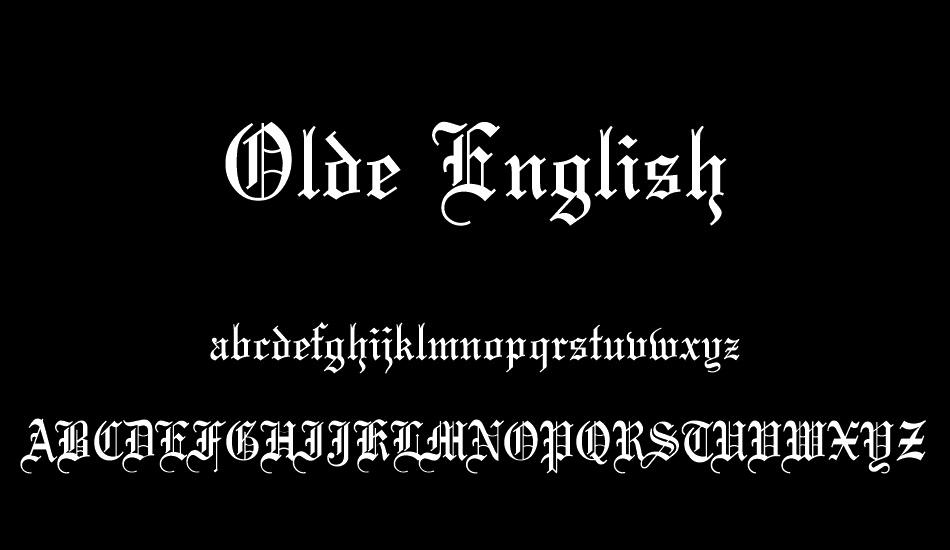 olde-english