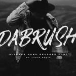 DaBrush Script Brush Font