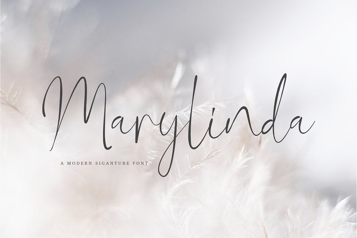 Marylinda Beauty Signature Script Font-01