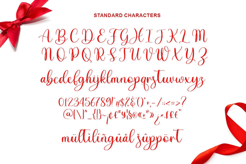 Adinda Sayang Calligraphy Script Font-3