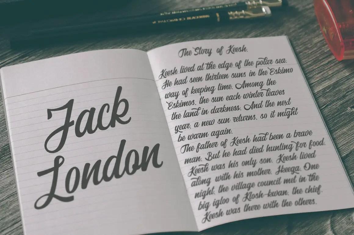 Adrenaline Script Typeface-3