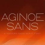 Aginoe Modern Sans Serif Font