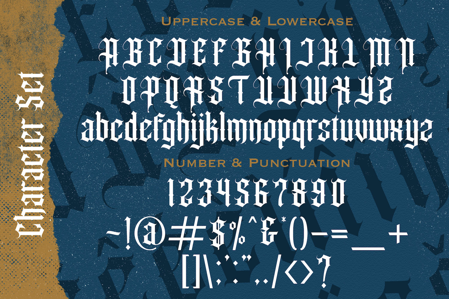 Angel Wish Blackletter Font-4