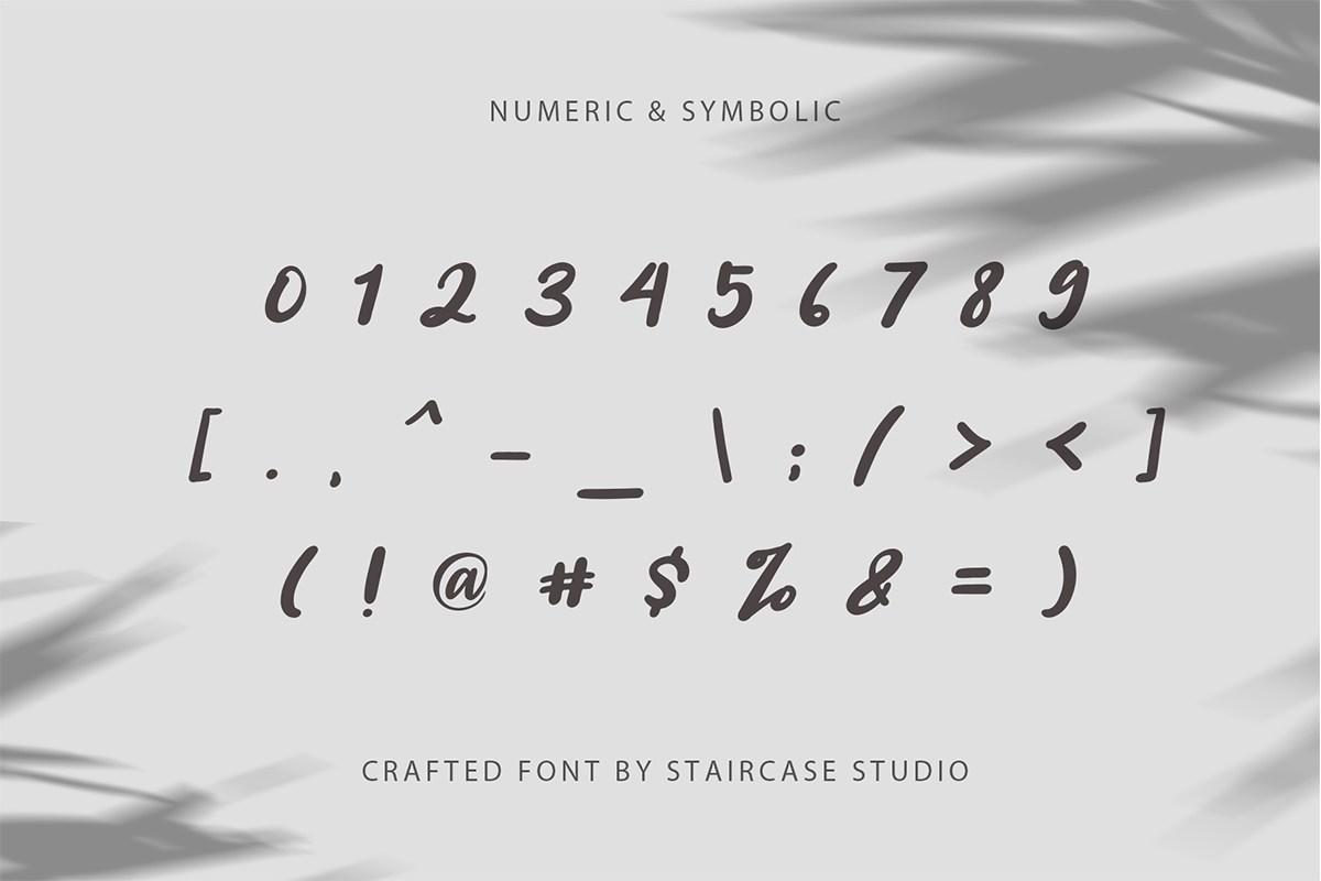 Angelica Caroline Handwritten Typeface-4